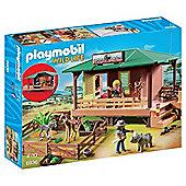 Playmobil Wild Life 6936 Ranger Station with Animal Area