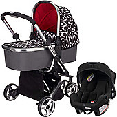 OBaby Chase Carrycot Travel System (Eclipse)