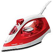 Philips GC1433/40 Comfort Steam iron - Red & White