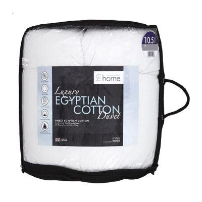 Catherine Lansfield 10.5 Tog Egyptian Cotton Quilt - Single