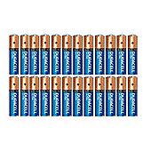 24 x Duracell AAA Ultra Power MN2400 LR03 Alkaline Batteries with Powercheck