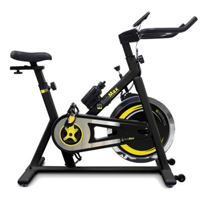 Bodymax B2 Indoor Studio Cycle Exercise Bike (Black) + Free LCD Monitor