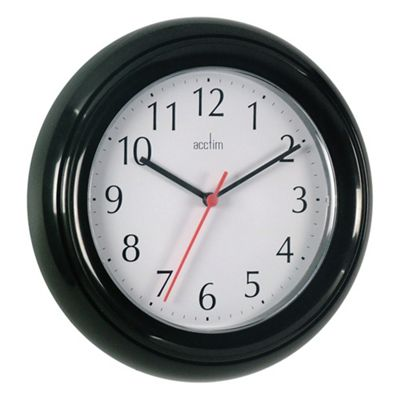 Acctim 21413 Wycombe Wall Clock - Black