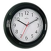 Acctim 21413 Wycombe Wall Clock - Black