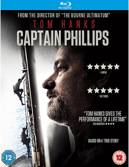 Captain Phillips (Uv) Blu-Ray