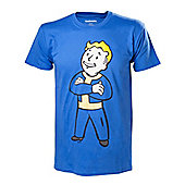 Fallout 4 Vault Boy Crossed Arms T-Shirt - Small - Gaming T-Shirts