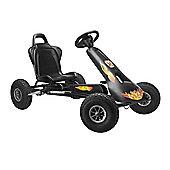 Air Racer Go Kart - Black