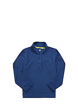 Regatta Oaklands Mini Stripe Half Zip Fleece - Blue