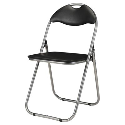 Collin Folding Chair Black