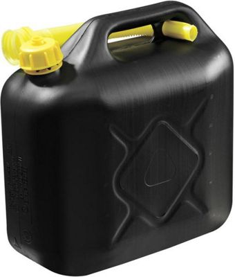 Plastic Jerry can 10L 670 gram Black