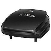 George Foreman 23400 2 Portion Compact Portable Health Grill - Black