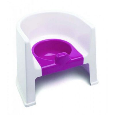 The Neat Nursery Training Potty Chair (White/Pink)