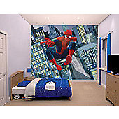 Walltastic Marvel Ultimate Spiderman Wall Mural 8 ft x 10 ft
