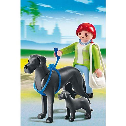 Playmobil - Boarhound with Puppy 5210