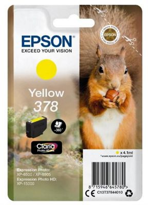 Epson 378 4.1ml 360pages Yellow ink cartridge 360 pages