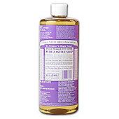Dr Bronner'S Org Lavender Castile Liquid Soap 473ml