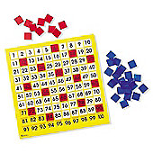 Learning Resources Hundreds Number Board