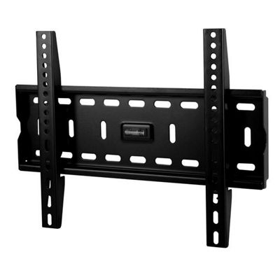 Medium Fixed Black LCD Wall Mount Bracket - 26 inch - 40 inch TV s