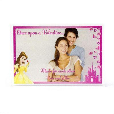 Disney Princess Personalised Couples Photo Block