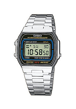 Casio Classic Unisex Stainless Steel Chronograph Watch A164WA-1VES