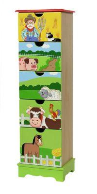 Fantasy Fields Happy Farm 5 Drawer Cabinet