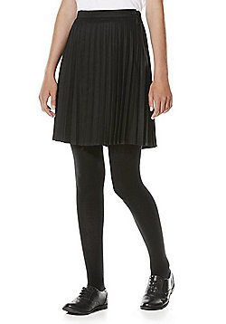 "F&F School Permanent Pleat Skirt with Teflon® EcoElite""™ - Dark grey"