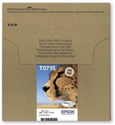 Epson T071 EasyMail multipack Black Cyan Magenta Yellow ink cartridge