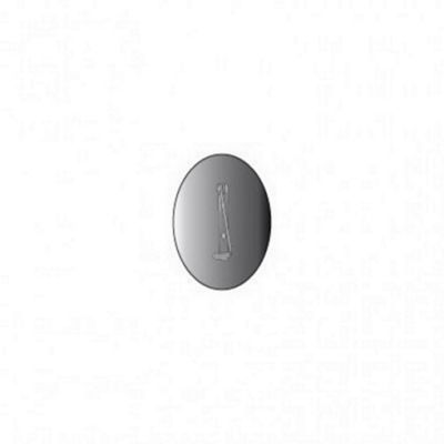 P5 Brooch 43 x 31mm Oval Pack of 10