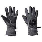 Jack Wolfskin Paw Gloves - Grey