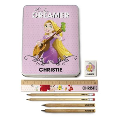 buy create your own personalised disney princess stationery set from