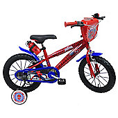MARVEL Spider-man 14 inch Wheel Red Kids Bike.