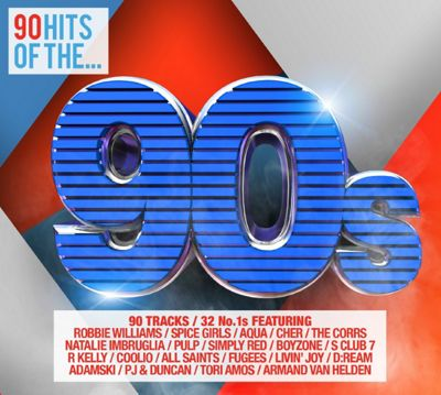 90 Hits Of The 90'S 4Cd