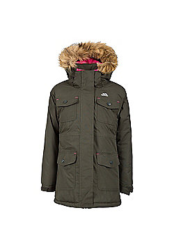 Trespass Girls Greer Parka - Green