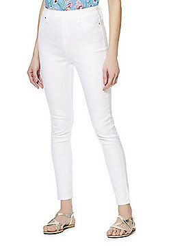 F&F Premium Mid Rise Jeggings - White