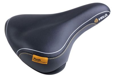 Velo Plush Ladies Saddle in Black