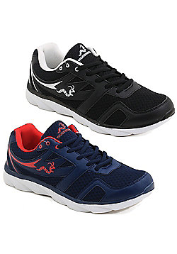 2 X Woodworm Txi Mens Running Shoes / Trainers - Multi