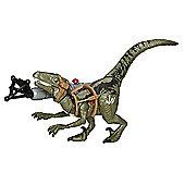 Jurassic World Bashers & Biters - Velociraptor Blue