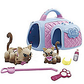 Pet Parade Family Cat & Kitten Carry Kit - Burmese