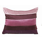 Dreamscene Boudoir Filled Cushion, Aubergine 30x40cm