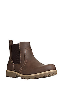 F&F Chelsea Boots - Brown