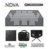 Nova Large 8 Seat Rectangular Dining Set Outdoor Garden Furniture Cover