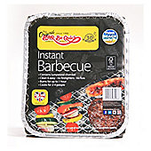 Bar-be-Quick Disposable Instant Barbecue Grill for 4 People