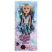 Glimma Girlz Winter Fairy 20 Inch Doll With Blue Dress
