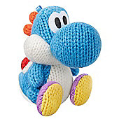 Nintendo Amiibo Light Blue Yarn Yoshi (Yoshis Woolly World Series) - NintendoWiiU