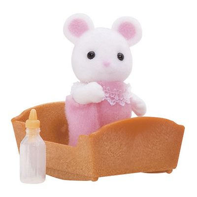 White Mouse Baby - Sylvanian Families Figures 5069