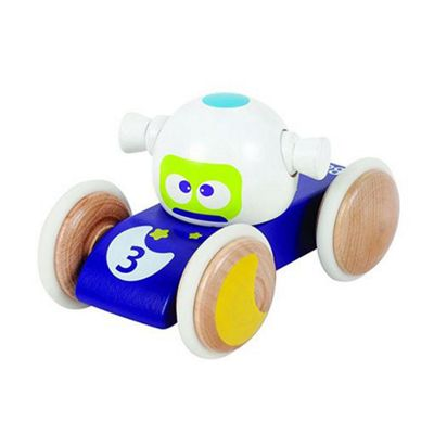 BOIKIDO Luna Vehicle Wooden Push Along Space Toy