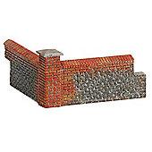 Hornby Skaledale R8978 Brick Walling Corners - Oo Gauge Buildings