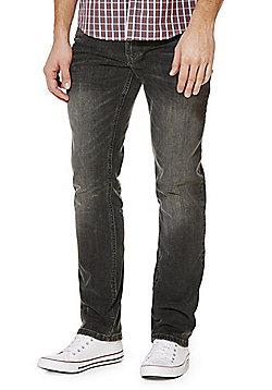 F&F Stretch Slim Fit Jeans - Grey