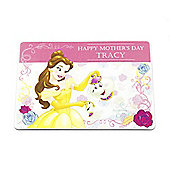 Beauty and the Beast Personalised Mother's Day Magnet