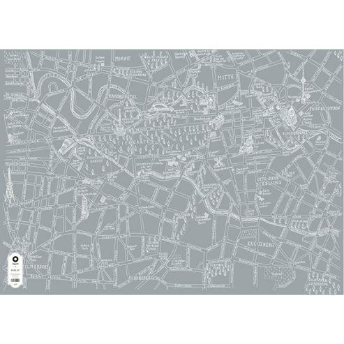 Michael A Hill Map Wrap - Berlin